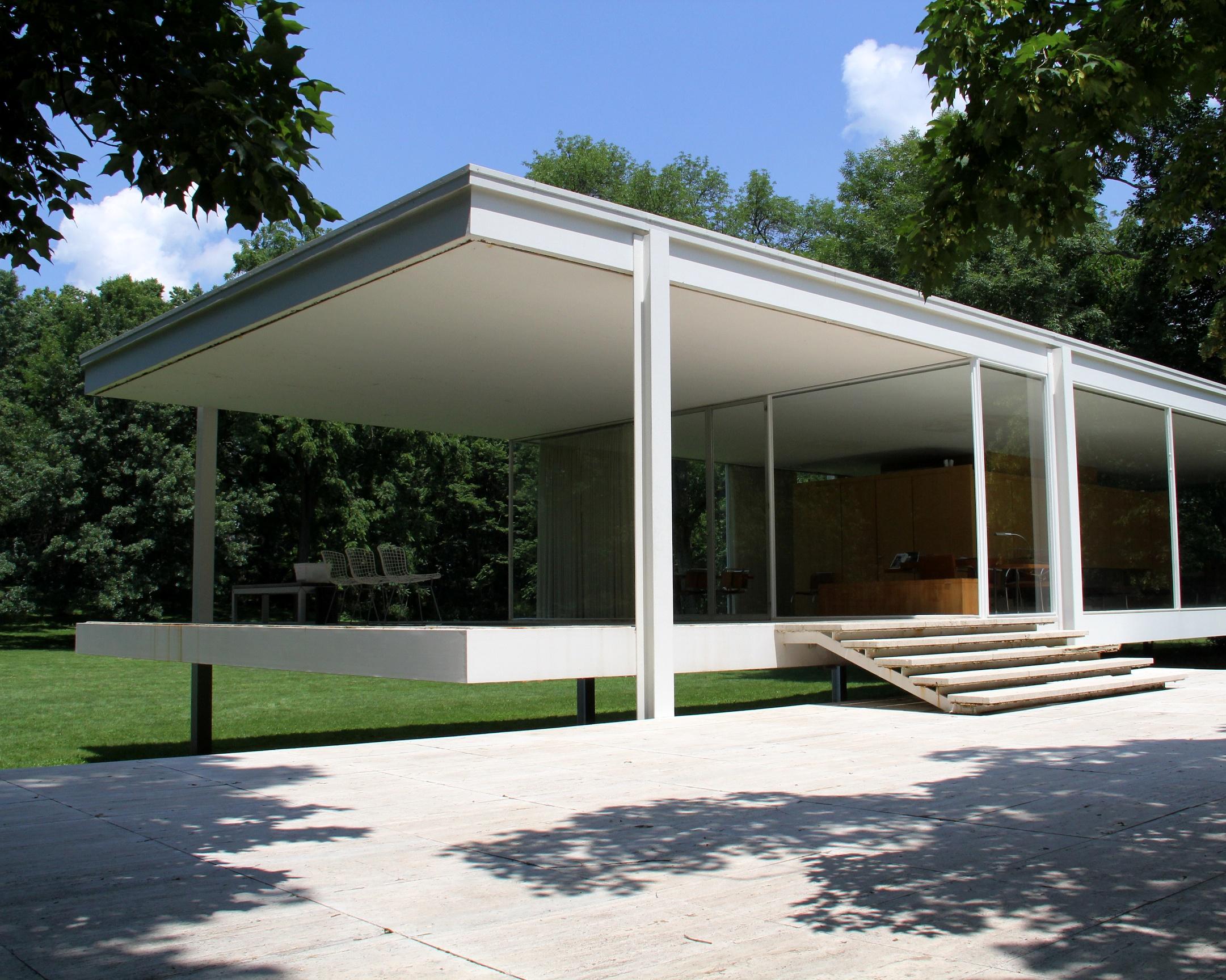 farnsworth house traverse360 architecture
